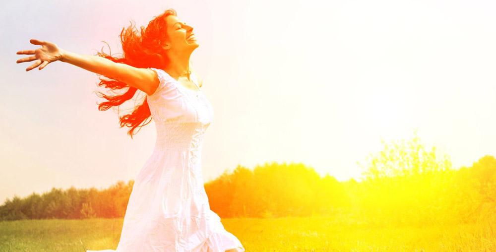 Bewusst leben-Lebensfreude