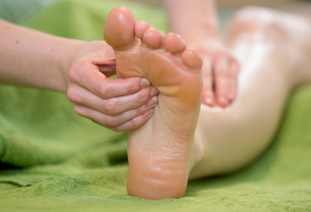 Fußreflexzonenmassage, Massage Innsbruck Naoruba