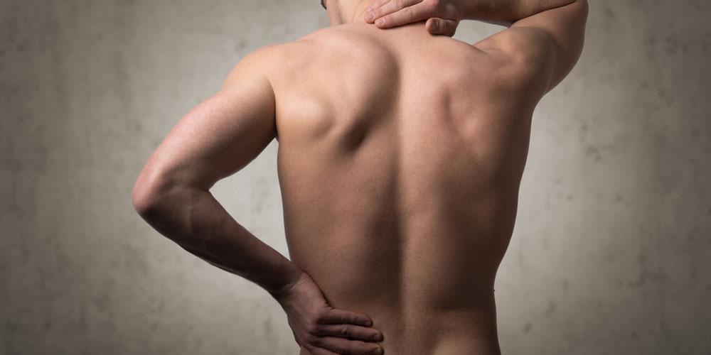 Rückenschmerz - Massageinstitut Naoruba Innsbruck
